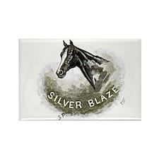 Silver Blaze Rectangle Magnet Magnets
