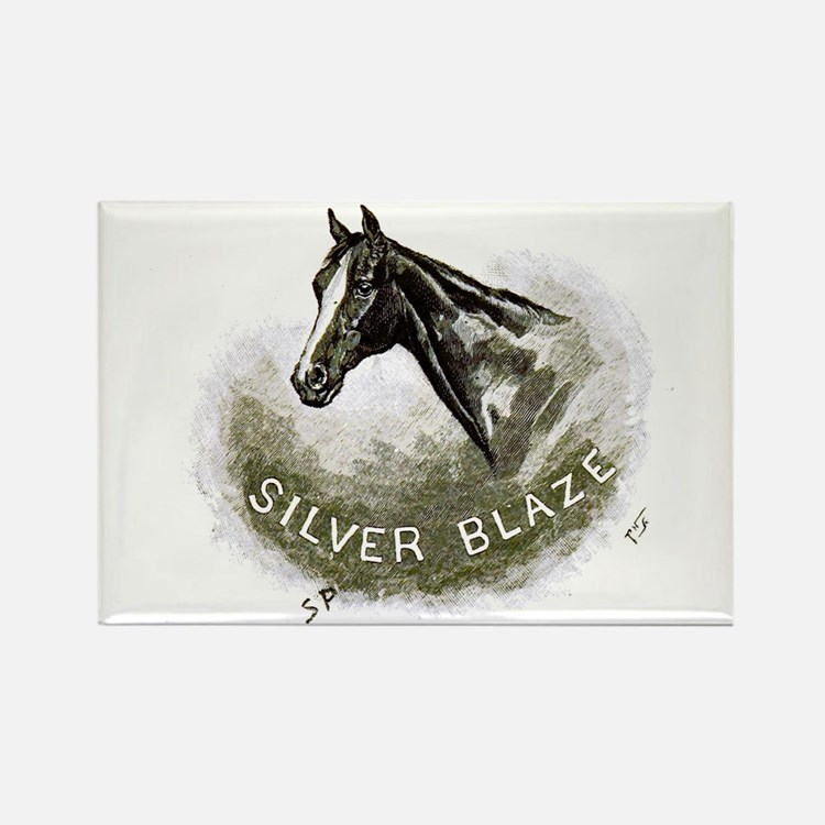 Silver Blaze Rectangle Magnet Magnets