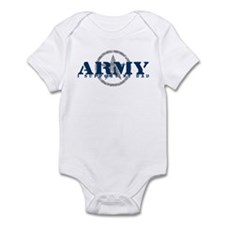 Army - I Support My Dad Infant Bodysuit
