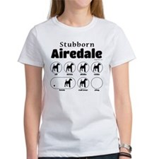 Stubborn Airedale v2 Tee