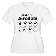 Stubborn Airedale T-Shirt