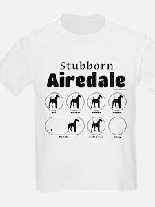 Stubborn Airedale v2 T-Shirt