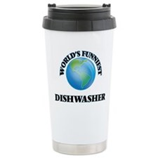 World's Funniest Dishwa Travel Mug
