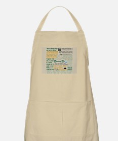 Walter Quotes - Breaking Bad Apron