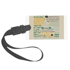 Walter Quotes - Breaking Bad Luggage Tag