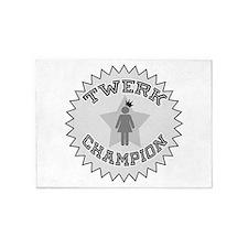 Twerk Champion 5'x7'Area Rug