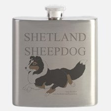 Tri Sheltie Flask