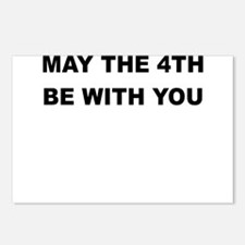 MAY THE 4TH BE WITH YOU Postcards (Package of 8)