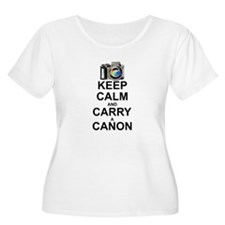 Carry a Canon Plus Size T-Shirt