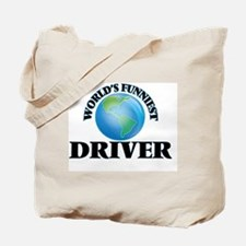 World's Funniest Driver Tote Bag