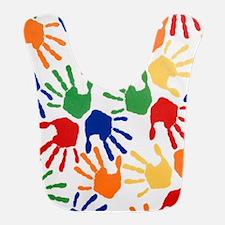 Kids Handprint Bib