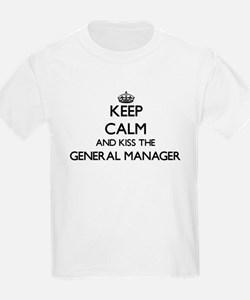 Keep calm and kiss the General Manager T-Shirt