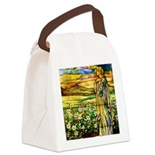 Field of Lilies Canvas Lunch Bag