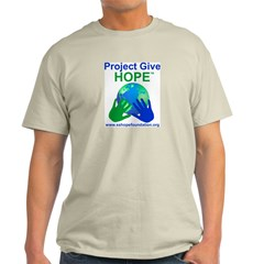 Project Give HOPE&#8482 Ash Grey T-Shirt