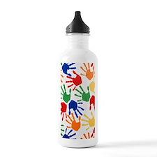 Kids Handprint Water Bottle