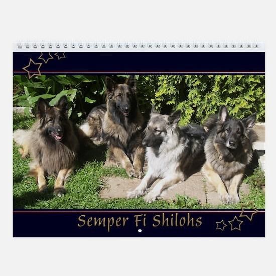 2015 Semper Fi Shilohs Wall Calendar