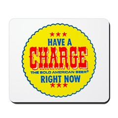 Charge Beer-1969 Mousepad
