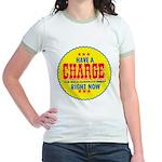 Charge Beer-1969 Jr. Ringer T-Shirt