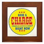 Charge Beer-1969 Framed Tile