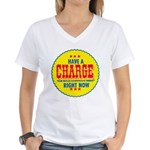 Charge Beer-1969 Women's V-Neck T-Shirt