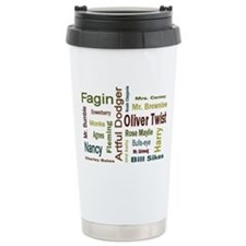 Cute Artful Travel Mug