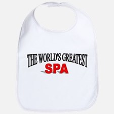 """The World's Greatest Spa"" Bib"