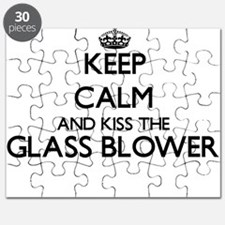Keep calm and kiss the Glass Blower Puzzle