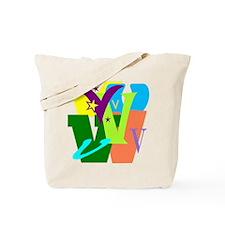 Initial Design (V) Tote Bag