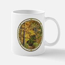 Autumn Trail Scenery Mugs
