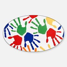 Kids Handprint Decal