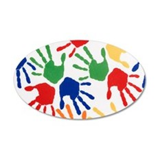 Kids Handprint Wall Decal