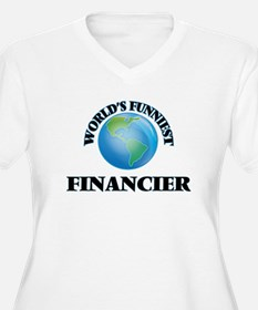 World's Funniest Financier Plus Size T-Shirt