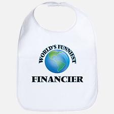 World's Funniest Financier Bib