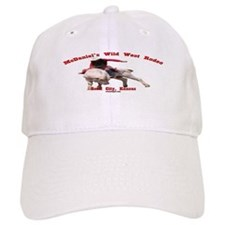 Jordon White Rodeo Baseball Cap
