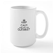 Keep calm and kiss the Guitarist Mugs