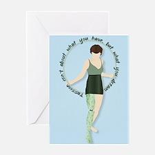 Hoop Dreams Greeting Cards