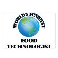World's Funniest Food Tec Postcards (Package of 8)