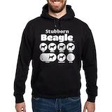 Beagles Hoodie (dark)