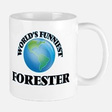 World's Funniest Forester Mugs