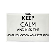 Keep calm and kiss the Higher Education Ad Magnets