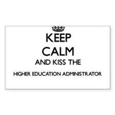 Keep calm and kiss the Higher Education Ad Decal