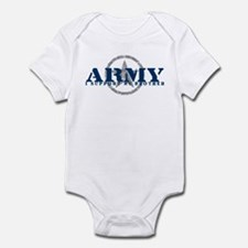 Army - I Support My Brother Infant Bodysuit