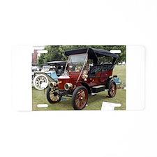 Stanley Steamer Aluminum License Plate