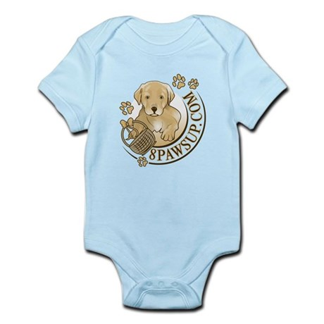 8PawsUp Lab Logo Infant Bodysuit