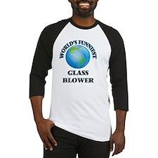 World's Funniest Glass Blower Baseball Jersey