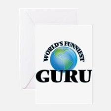 World's Funniest Guru Greeting Cards