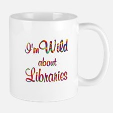 Wild About Libraries Mug