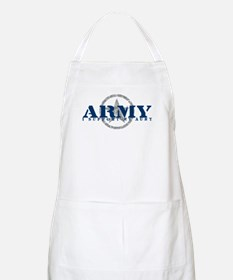 Army - I Support My Aunt BBQ Apron