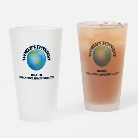 World's Funniest Higher Education A Drinking Glass