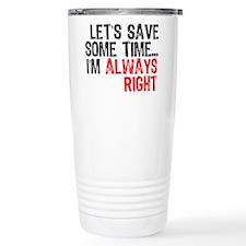Save Time Travel Mug